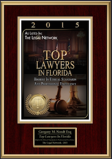 2015 Top Foreclosure Lawyer in Florida