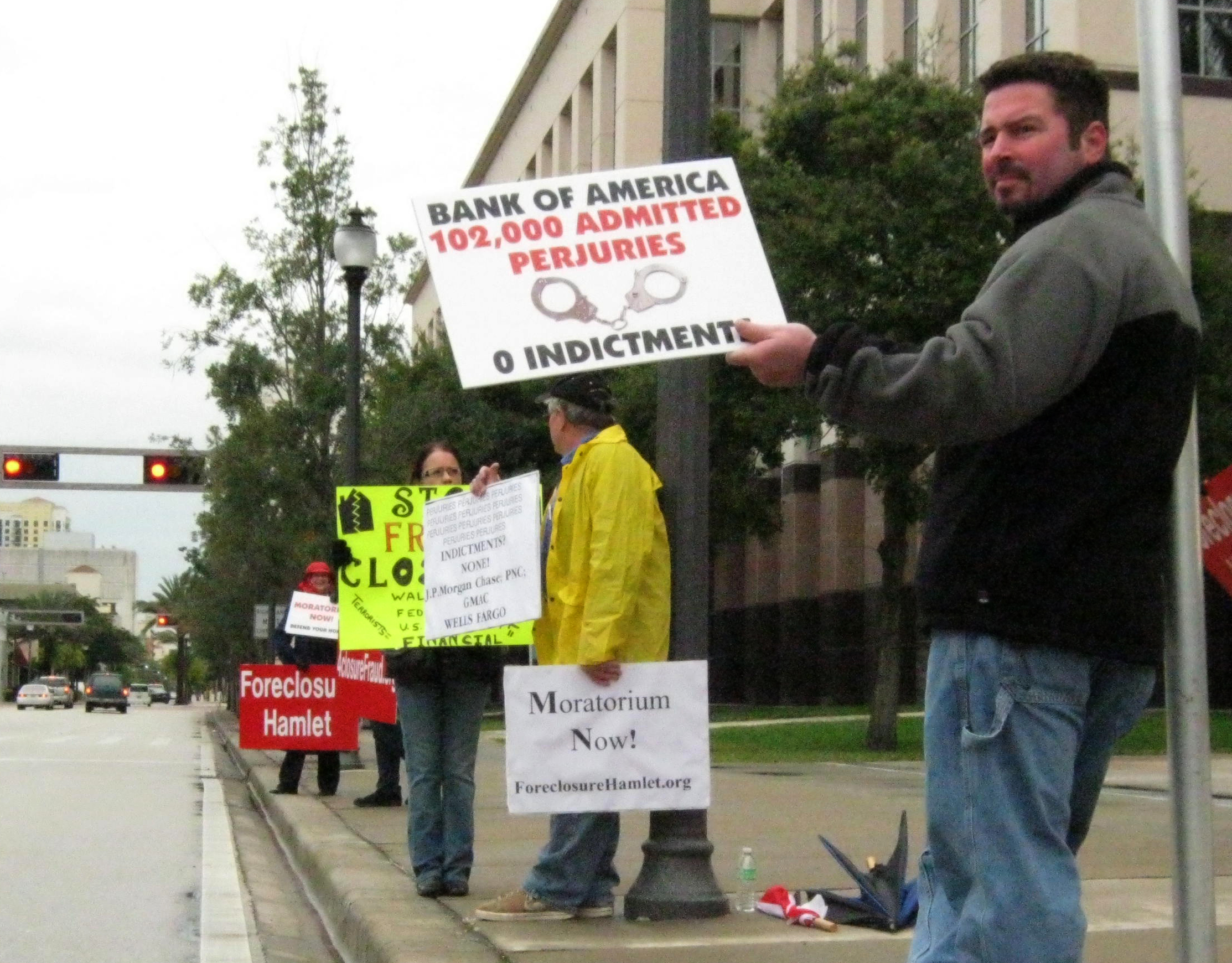 West Palm Beach Foreclosure Rally
